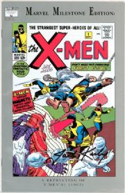 X-Men #1 Marvel Milestone Edition Dynamic Forces Signed Jack Kirby DF COA Marvel comic book